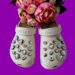 Crocs Shoe Jewel Charms PEARLESCENT